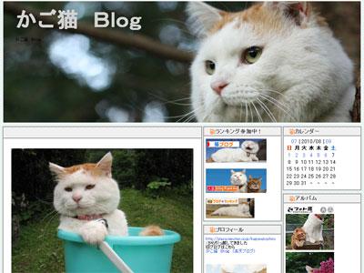 「かご猫 Blog」