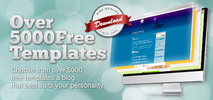 Over 5000 Free Templates