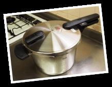 フィスラー圧力鍋 IH対応 4.5L 鍋蓋付