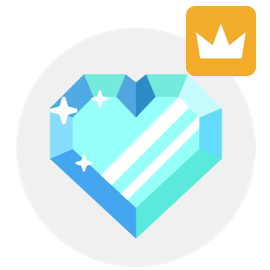 premium icon diamond